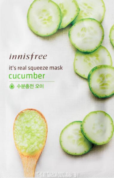 It's real squeeze Gesichtsmaske - Gurke - 1Stück - 20ml