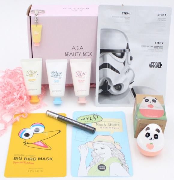 Ajia Box - Die Koreanische Beauty Box - Überraschungsbox - Geschenkbox - koreanische Kosmetik