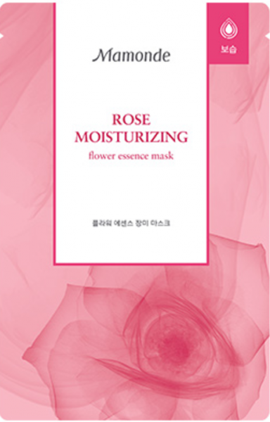 Mamonde Flower Essence - Rose - koreanische Tuchmaske - 22ml