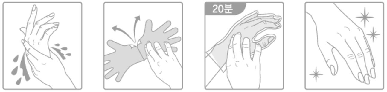 Tony-Moly-Lovely-Peach-Hand-Mask-Handpflege-16g-koreanische-Gesichtsmaske