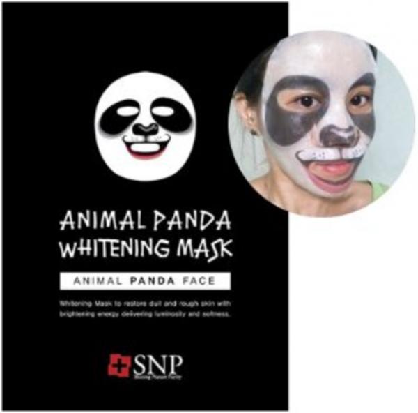 SNP Animal Panda Whitening Mask - koreanische Tuchmaske - 25ml
