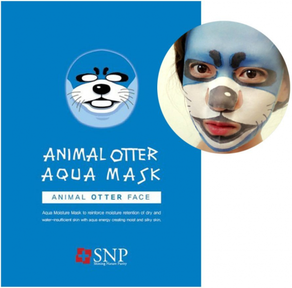 SNP Animal Otter Aqua Mask - koreanische Tuchmaske - 25ml