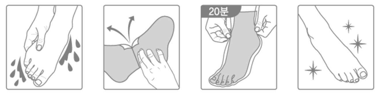 Tony-Moly-Fresh-Peppermint-Foot-Mask-Fusspflege-16g-korean-sheet-mask-koreansheetmask-de