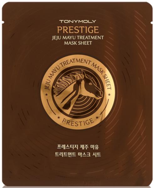 Tony Moly Prestige Jeju Mayu Treatment Mask Sheet - koreanische Tuchmaske - 30g